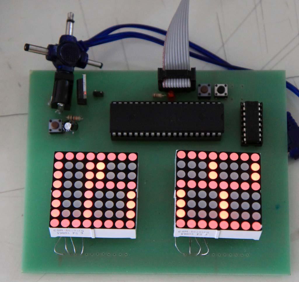 Menyalakan LED Matrix Tanpa Resistor