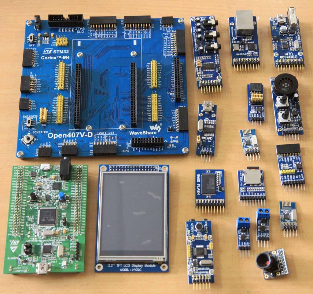 Perangkat Pengembangan ARM Cortex M4 dari Waveshare