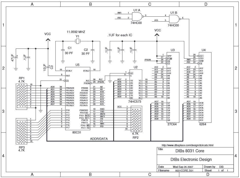 contoh-rangkaian-mikrokontroler-8031