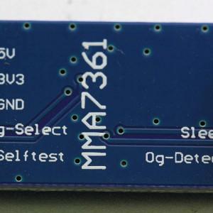 Modul MMU7361 bottom side