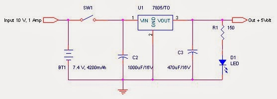 Regulator seri LM7805