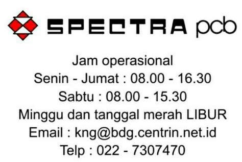 Alamat kontak Spectra