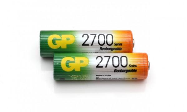Batere NiMH merek GP berkapasitas 2700 mAh