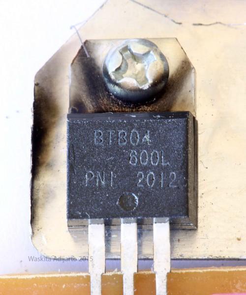 TRIAC BTB04-600L