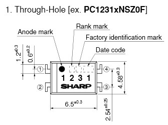 Sharp Optocoupler