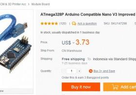 Arduino Nano V3 kloning