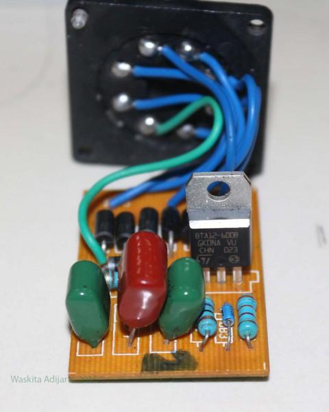Motor controller tanpa kemasan