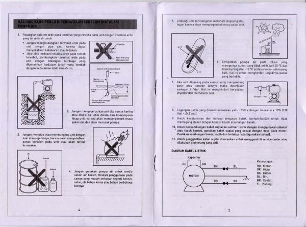 Manual halaman 4 & 5