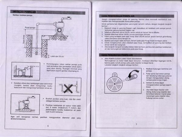 Manual halaman 6 & 7