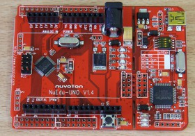 Development Board Nuvoton NuTiny NuEdu-UNO V1.4