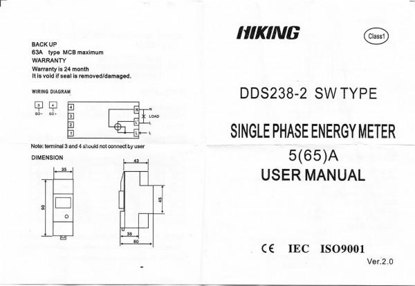Manual Energy Meter halaman 1