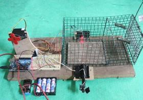 Perangkap Tikus Elektronik Dengan Sensor Cahaya