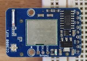 Modul CC3000 WiFi dari AliExpress