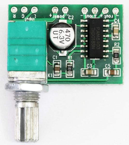 PAM8403 Amplifier Kelas D