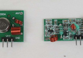 XD-RF-5V-433 MHz Wireless RF Transmitter and Receiver Kit