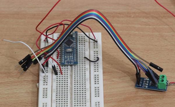 Menyambungkan Arduino Nano ke sensor ACS-712