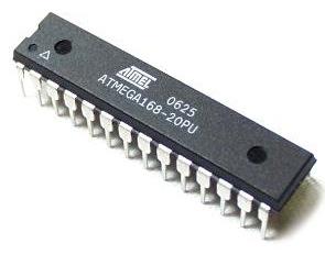ATMega168 dari Atmel