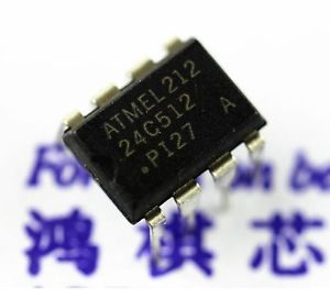 Atmel EEPROM AT 24C512