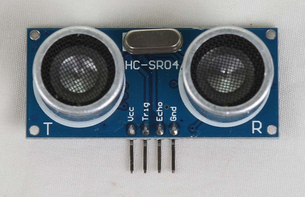 HC SR04 sensor jarak ultrasonik