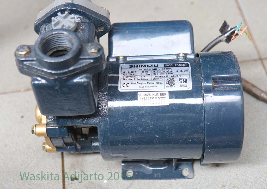 pompa air shimizu ps 128 bit elektrologi