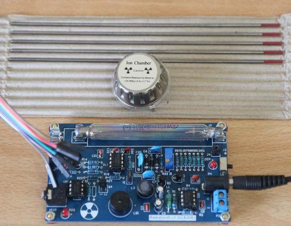 Batang elektroda tungsten, sensor asap dan geiger counter,