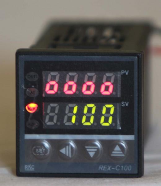 Display pengendali temperatur