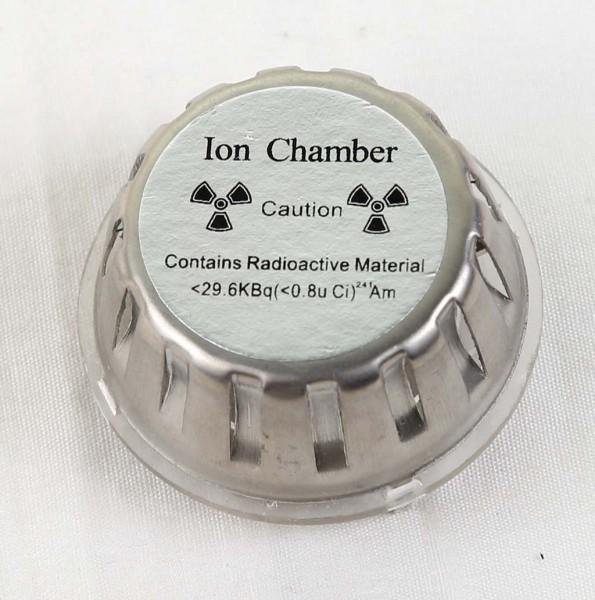 Sensor asap dengan ion chamber