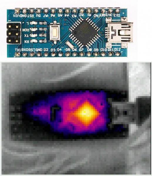 Thermal Image Arduino Nano