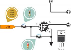 Teknik Menggunakan MOSFET Sebagai Sakelar