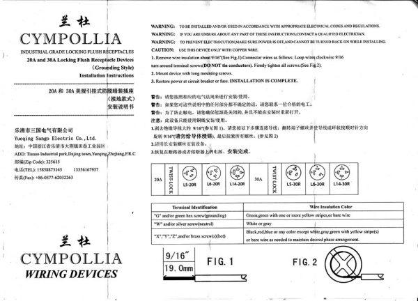 Manual Cympollia L6-30