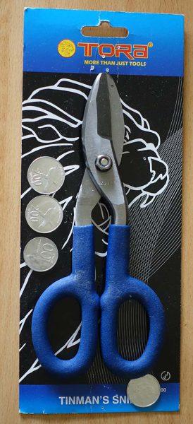 Penampakan gunting besi TR-TS200