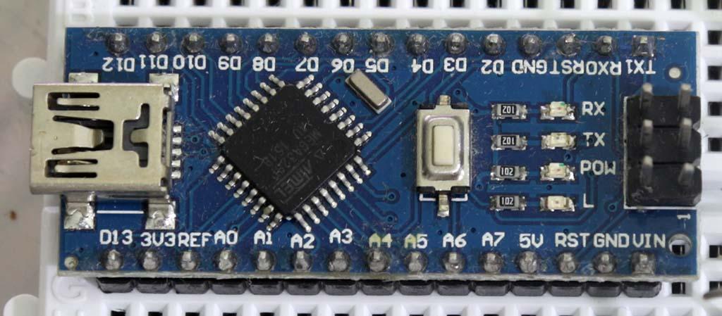 Arduino Nano specimen 1