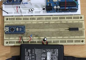 Mengukur tegangan pin 5V pada Arduino