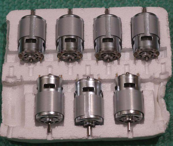 Motor DC tipe 775