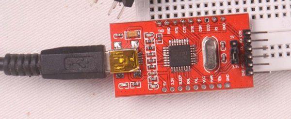 Konverter USB to Serial FTDI