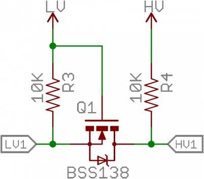 Rangkaian level converter