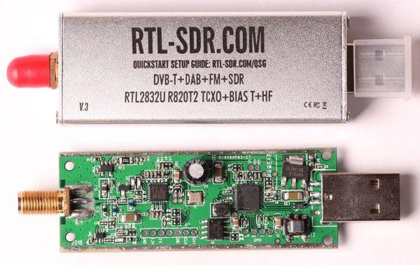 RTL SDR V3 dan casing