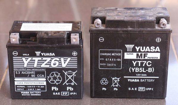 Aki Yuasa YTZ6V dan YT7C