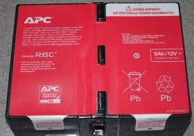 Batere UPS APC RBC124