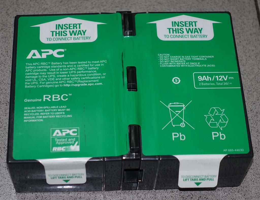 Batere APCRBC124 hijau green