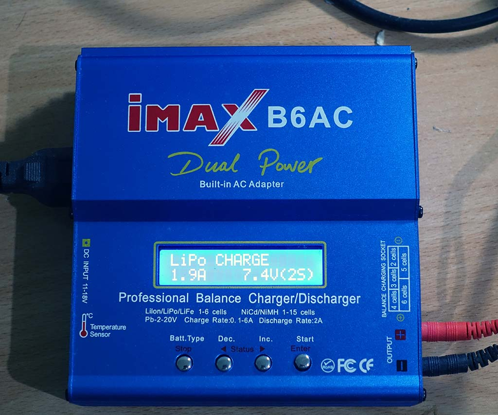 Charger batere IMAX B6AC