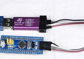 Upload Program ke STM32F103CBT6 Blue Pill Dengan ST-LINK V2 Dan ST-LINK Utility