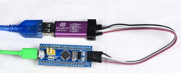STM32 Blue Pill dan STL LINK V2