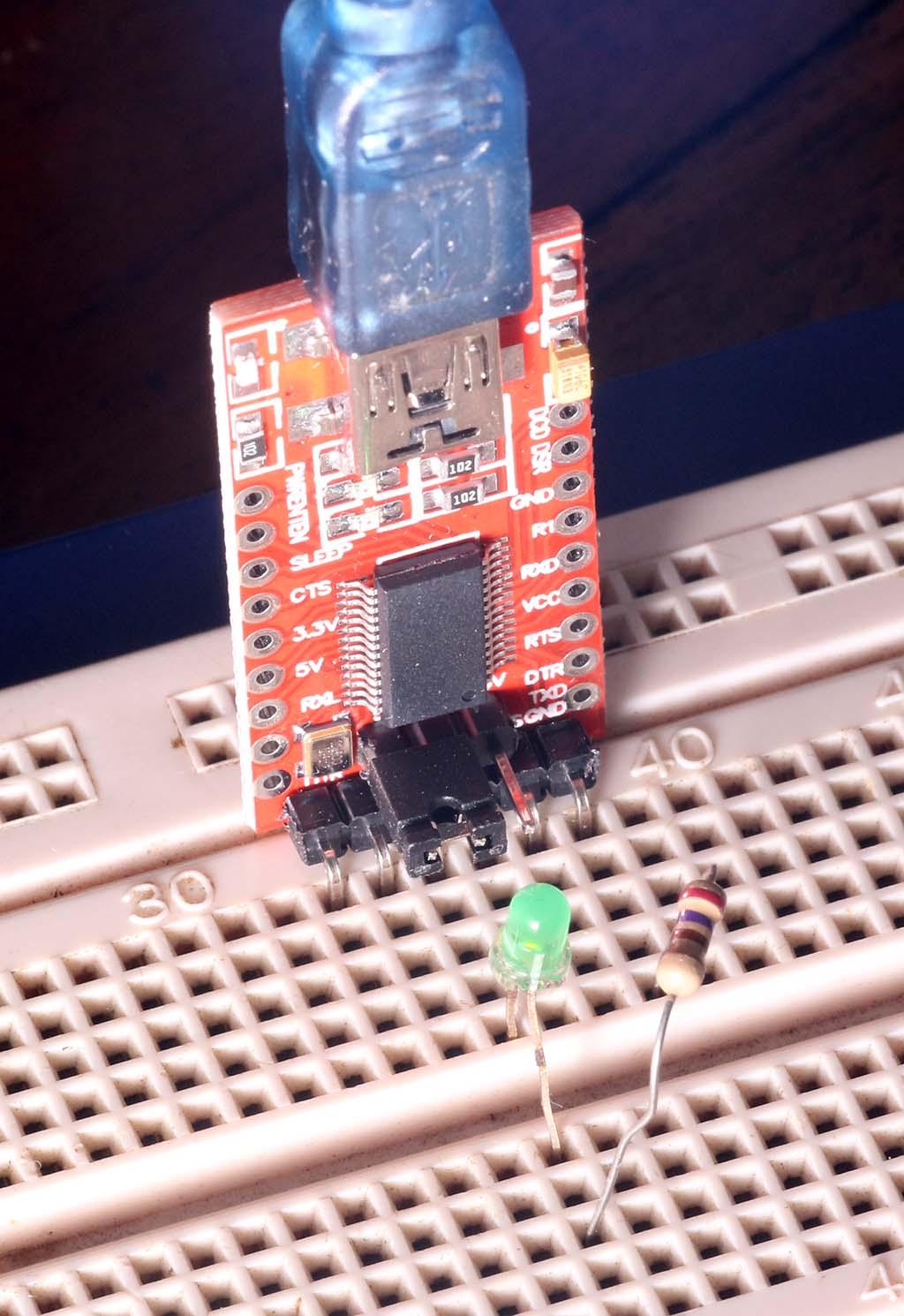 USB Serial FTDI