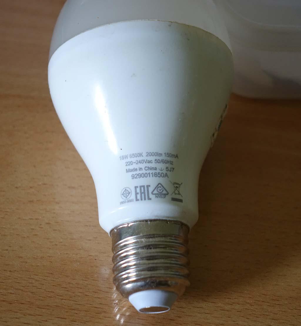 lampu LED phillips 18 W