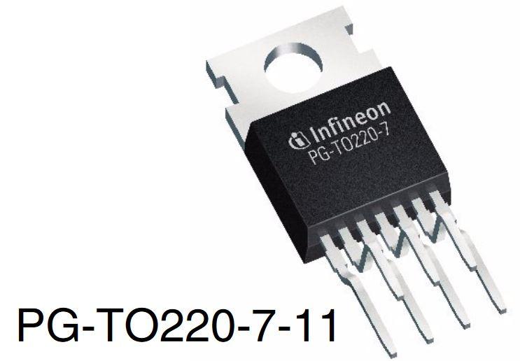 TLE 5205-2 Transistor H-Bridge untuk Motor DC