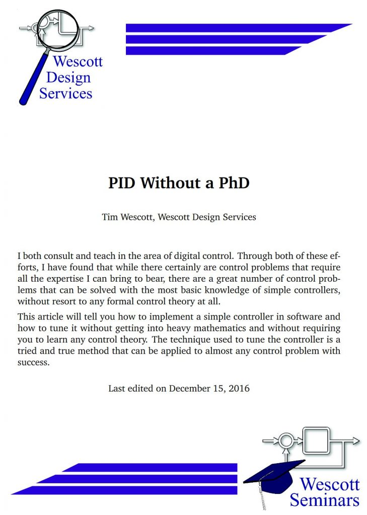 PID without PhD Cover