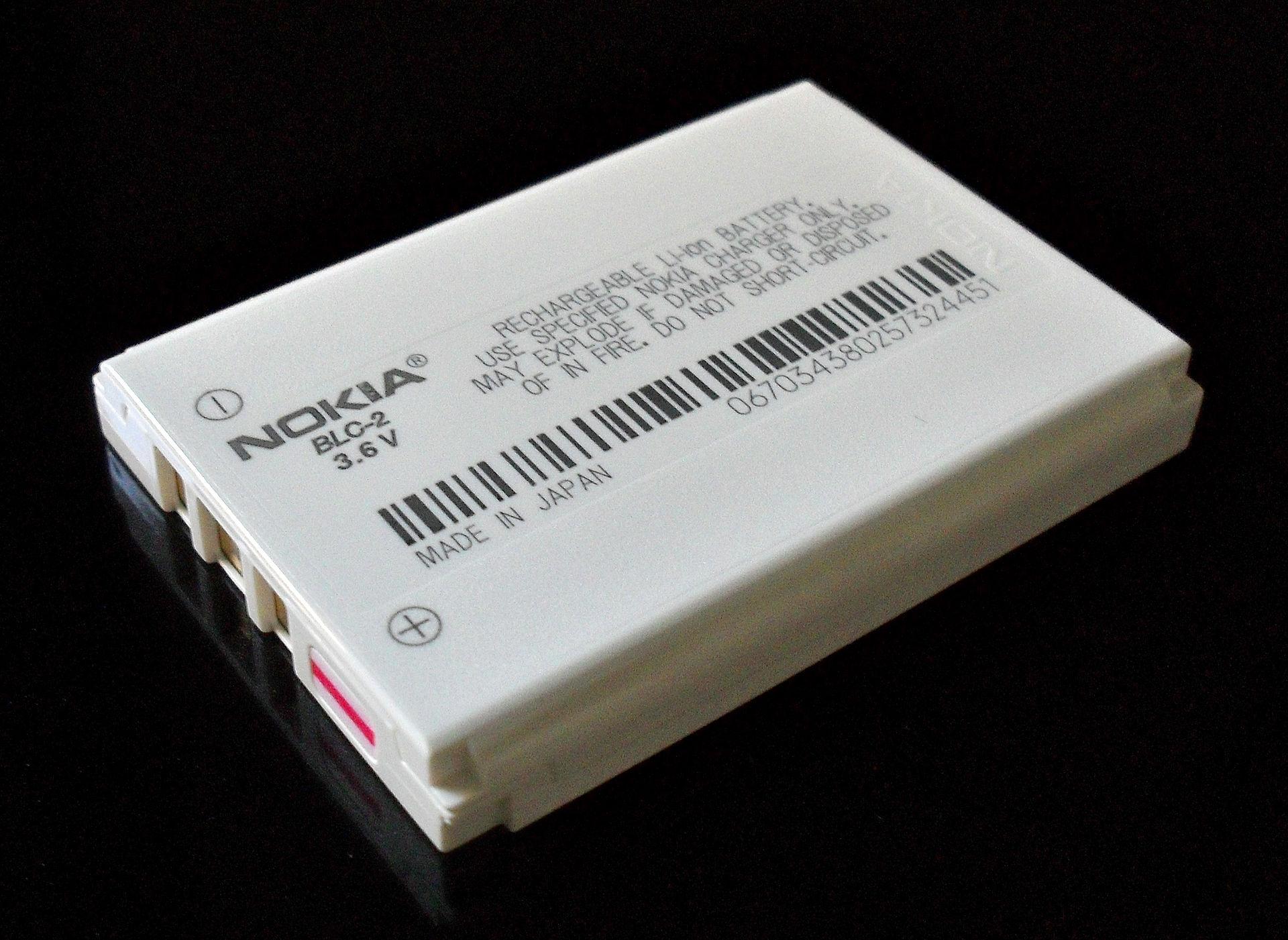 Baterai Lithium-Ion BLC-2 dari Nokia