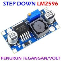 Modul DC to DC step down dengan LM2596