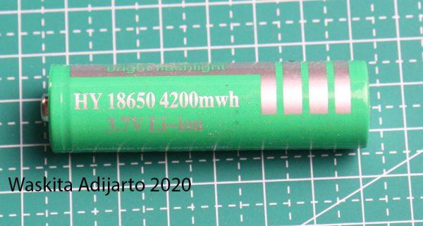 Baterai 18650 4200 mWh